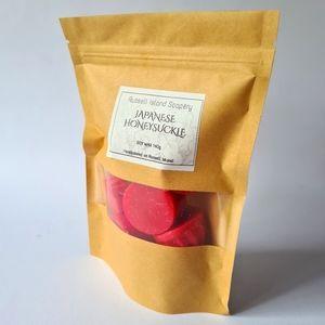 Brand New Japanese Honeysuckle Handpoured Soy Wax Melts 140g Made in Australia